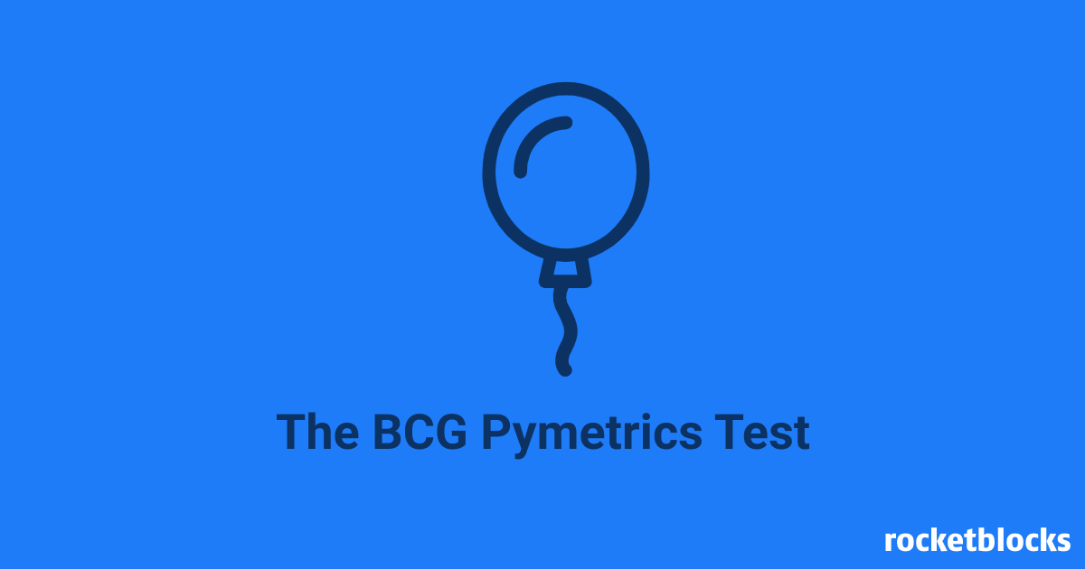 BCG Pymetrics Test overview