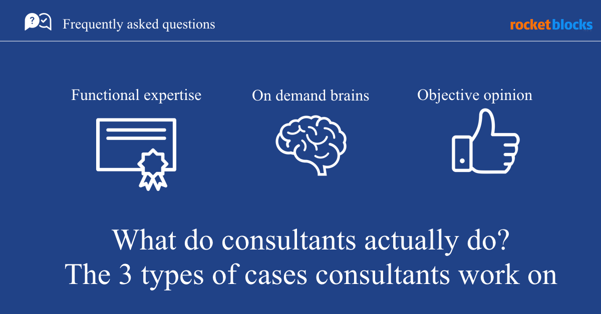 What do management consultants like McKinsey actually do?